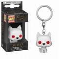 GAME OF THRONES - POP FUNKO VINYL KEYCHAIN GHOST 4CM