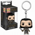 GAME OF THRONES - POP FUNKO VINYL KEYCHAIN JON SNOW (BEYOND THE WALL) 4CM
