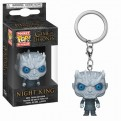 GAME OF THRONES - POP FUNKO VINYL KEYCHAIN NIGHT KING 4CM