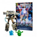GHOSTBUSTERS - TRANSFORMERS - ECTO-1 ECTOTRON - ACTION FIGURE 18CM