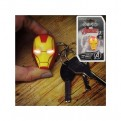 GIFPAL098 - PP2982MA - IRON MAN TORCH LED ON A KEYCHAIN