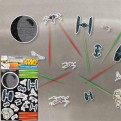 GIFPAL169 - STAR WARS - FRIDGE MAGNETS