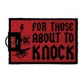 GP85128 - AC/DC - ZERBINO 40x60 - FOR THOSE ABOUT TO KNOCK