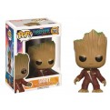 GUARDIANI DELLA GALASSIA 2 - POP FUNKO VINYL FIGURE 212 YOUNG GROOT IN SUIT - ANGRY 9CM
