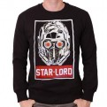 GUARDIANI DELLA GALASSIA 2 - SW102 - FELPA STAR LORD OBEY XL