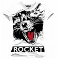 GUARDIANI DELLA GALASSIA 2 - TS076 - T-SHIRT ROCKET BIG FACE S