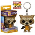 GUARDIANI DELLA GALASSIA COMICS - POP FUNKO VINYL KEYCHAIN ROCKET RACCOON 4 CM