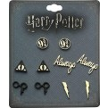 HARRY POTTER - 5 PACK EARRING SET