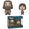 HARRY POTTER - FUNKO VYNL 2PACK HARRY & HAGRID 10CM
