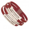 HARRY POTTER - GRYFFINDOR LEATHER BRACELET