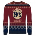 HARRY POTTER - KNITTED JUMPER - HOGWARTS EXPRESS L