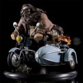 HARRY POTTER - Q-FIG FIGURE MAX HARRY POTTER AND RUBEUS HAGRID 18x15x16CM