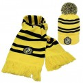 HARRY POTTER - SET SCIARPA E BERRETTO - HUFFLEPUFF