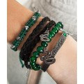 HARRY POTTER - SLYTHERIN BRACELET SET