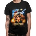 HARRY POTTER - T-SHIRT - SORCERERS STONE MOVIE POSTER - XL