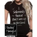 HARRY POTTER - T-SHIRT DONNA - SOLEMLY SWEAR - S