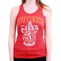 HARRY POTTER - TK008 TANK TOP DONNA GRYFFINDOR OLD SCHOOL M