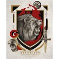 HARRY POTTER - WALL ART - GRYFFINDOR
