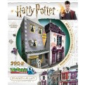 HARRY POTTER - WREBBIT 3D PUZZLES - DIAGON ALLEY COLLECTION - MADAM MALKIN'S & FLOREAN FORTESCUE'S ICE CREAM