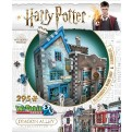 HARRY POTTER - WREBBIT 3D PUZZLES - DIAGON ALLEY COLLECTION - OLLIVANDER'S WAND SHOP & SCRIBBULUS