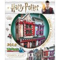 HARRY POTTER - WREBBIT 3D PUZZLES - DIAGON ALLEY COLLECTION - QUALITY QUIDDITCH SUPPLIES & SLUG & JIGGERS