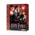 HARRY POTTER - WREBBIT POSTER PUZZLES - HOGWARTS SCHOOL