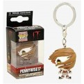 IT - POP FUNKO VINYL KEYCHAIN PENNYWISE WITH WIG 4CM