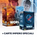 IT'S A WONDERFUL WORLD + IT'S A WONDERFUL WORLD: GUERRA O PACE - ESPANSIONE + SET CARTE IMPERO SPECIALE