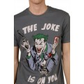 JOKER - T-SHIRT UOMO - JOKER IS ON YOU - M