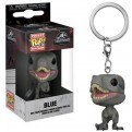 JURASSIC WORLD: FALLEN KINGDOM - POP FUNKO VINYL KEYCHAIN BLUE 4CM