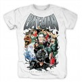 JUSTICE LEAGUE - T-SHIRT - BATMAN VILLAINS - S