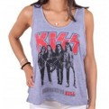 KISS - TK008 - TANK TOP DONNA DRESSED TO KILL L