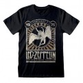 LED ZEPPELIN - T-SHIRT - MADISON SQUARE GARDEN 1975 EVENT M