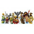 LEGO MINIFIGURES 71008 - NON-THEMED - ESPOSITORE 60 PZ.