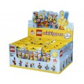 LEGO MINIFIGURES 71009 - THE SIMPSONS SERIE 2 - ESPOSITORE 60 PZ.