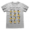 LOONEY TUNES - T-SHIRT - MANY MOODS OF DAFFY M