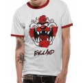 LOONEY TUNES - T-SHIRT - TAZ FACE BOXED ENGLAND - S