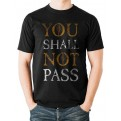 LORD OF THE RINGS - T-SHIRT - LORD OF THE RINGS - YOU SHALL NOT PASS - M