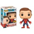 MARVEL - SPIDER-MAN HOMECOMING - POP FUNKO VINYL FIGURE 221 UNMASKED SPIDER-MAN