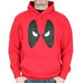 MARVEL - SW026 - FELPA CON CAPPUCCIO DEADPOOL EYES M