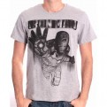 MARVEL - TS004 - T-SHIRT IRON MAN DRAWING S