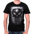 MARVEL - TS004 - T-SHIRT PUNISHER BRICKS S