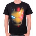MARVEL - TS033 - T-SHIRT IRON MAN ULTRON VIRUS L