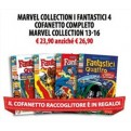MARVEL COLLECTION I FANTASTICI 4 COFANETTO COMPLETO - MARVEL COLLECTION 13-16