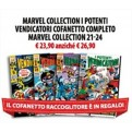 MARVEL COLLECTION I POTENTI VENDICATORI COFANETTO COMPLETO - MARVEL COLLECTION 21-24