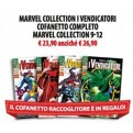 MARVEL COLLECTION I VENDICATORI COFANETTO COMPLETO - MARVEL COLLECTION 9-12