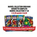 MARVEL COLLECTION IRON MAN COFANETTO COMPLETO - MARVEL COLLECTION 17-20