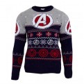 MARVEL COMICS - KNITTED JUMPER - AVENGERS ASSEMBLE XL