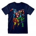 MARVEL COMICS - T-SHIRT - GROUP SHOT 3-4 YEARS