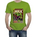 MARVEL COMICS - T-SHIRT UOMO HULK COVER L